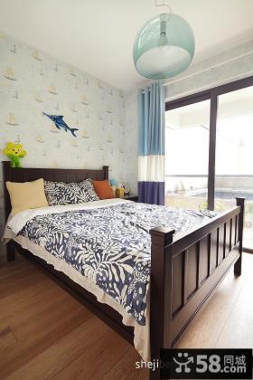 田园风格小卧室装修图片