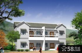 效果图 装修 设计图/农村二层楼房设计图