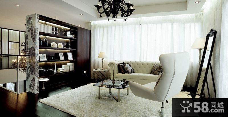 别墅复式客厅装修