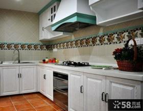 简约地中海风格厨房装潢