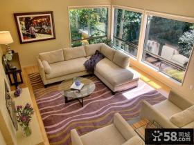 95平米两室两厅客厅装修效果图
