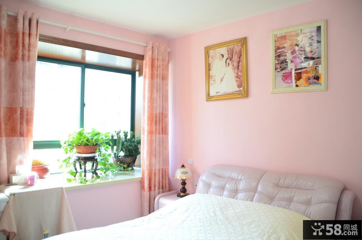 2013卧室飘窗效果图图片