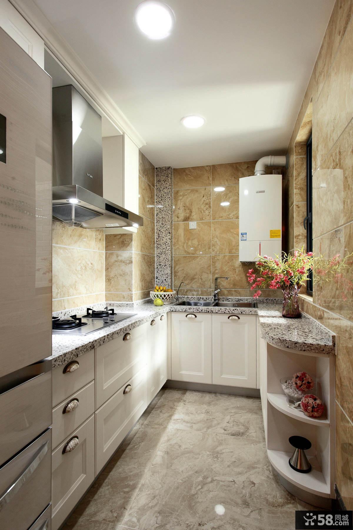 美式装修风格厨房图大全