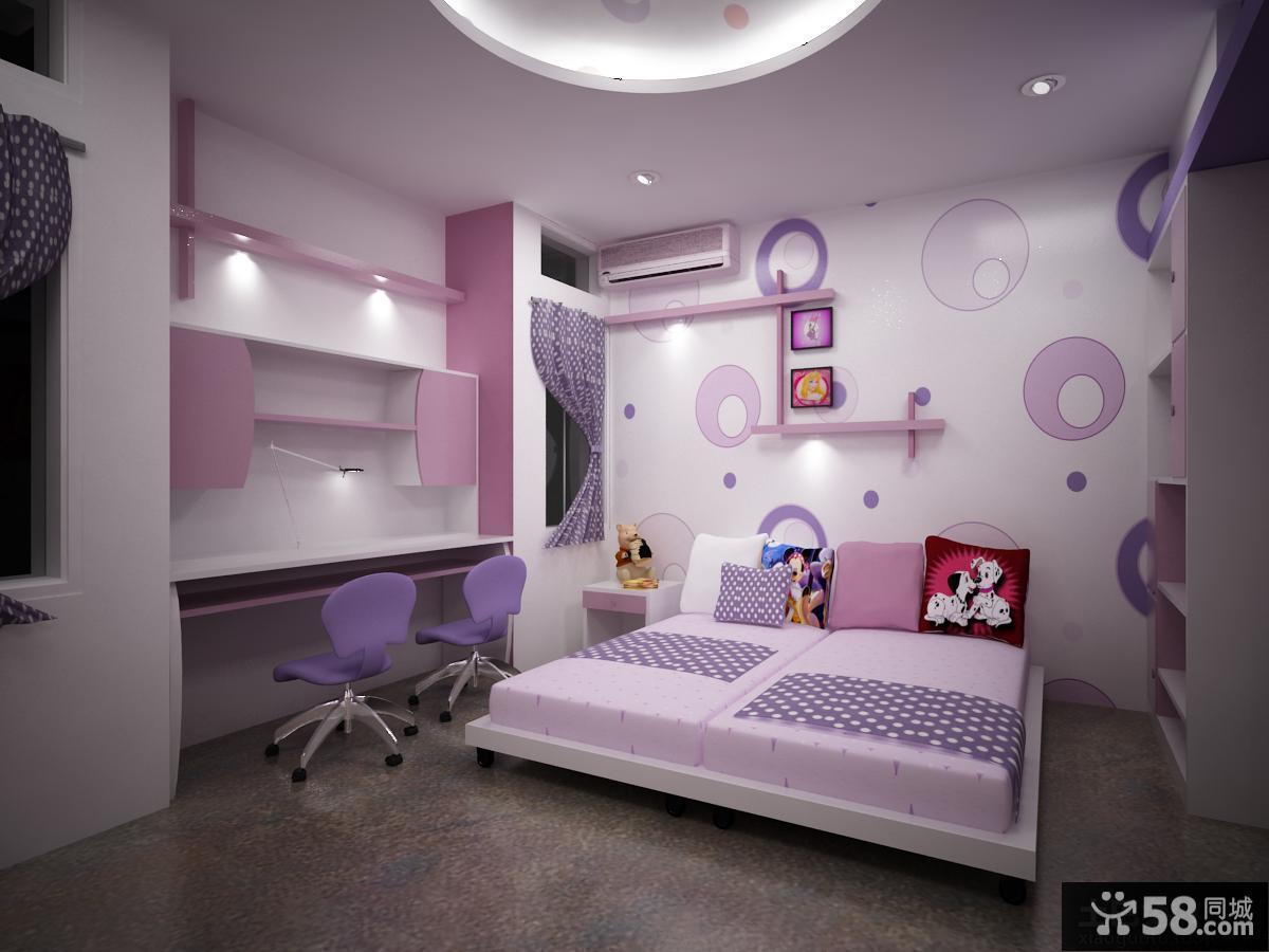 女儿童房装修图片欣赏