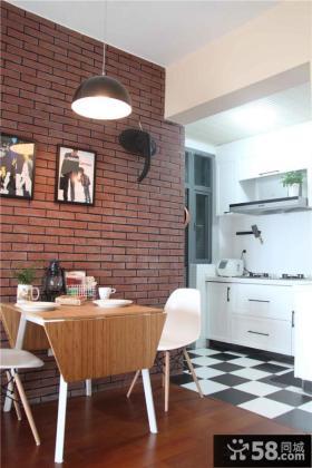 小厨房餐厅装修效果图大全2013图片