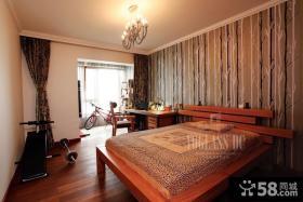 简中式次卧室装修效果图大全2013图片
