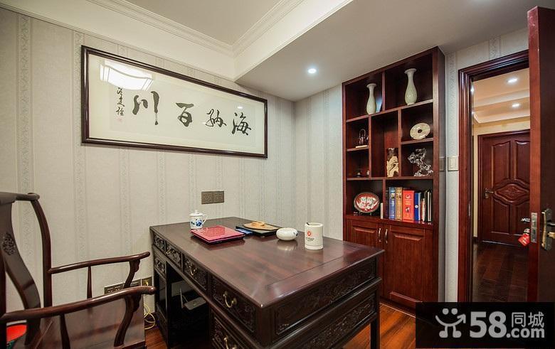 中式吊顶客厅