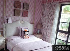女生儿童房窗帘装修效果图欣赏