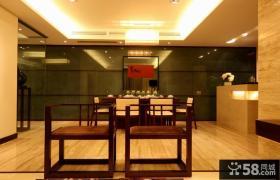 新中式风格家居室内餐厅背景墙