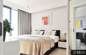 现代室内简约卧室装饰设计效果图