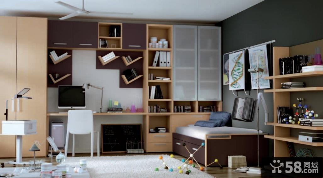 欧式卧室装衣柜