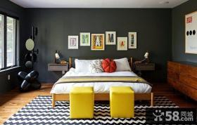 现代创意风格时尚卧室装修图片