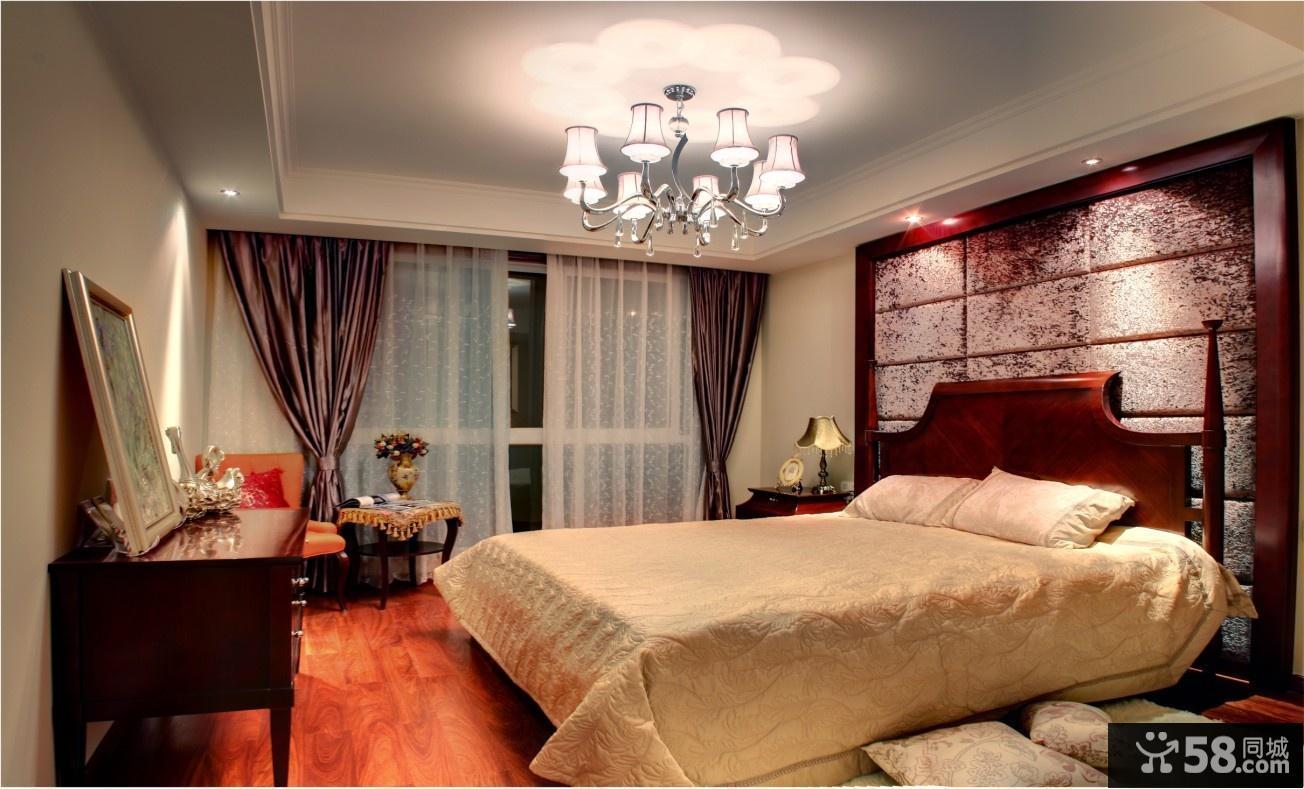简雅欧式三居室客厅吊顶装修效果图大全2014图片