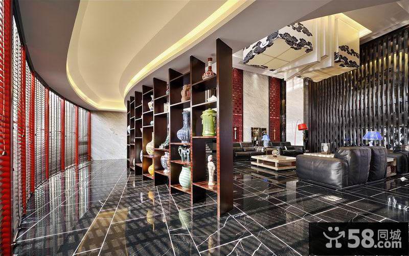 新中式装修客厅