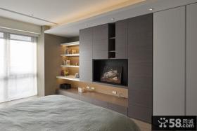 现代风格卧室柜子设计