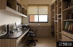 现代时尚2平米书房