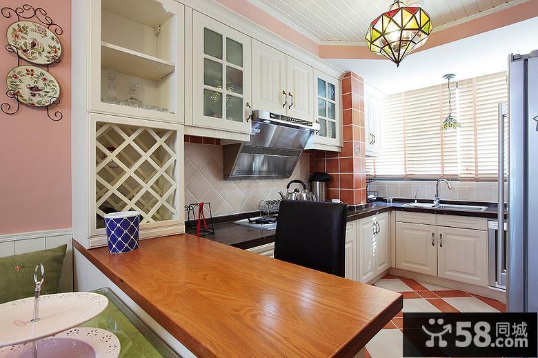 小户型厨房装修效果图2015