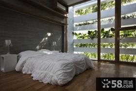 田园风格创意别墅卧室装修效果图大全2012图片
