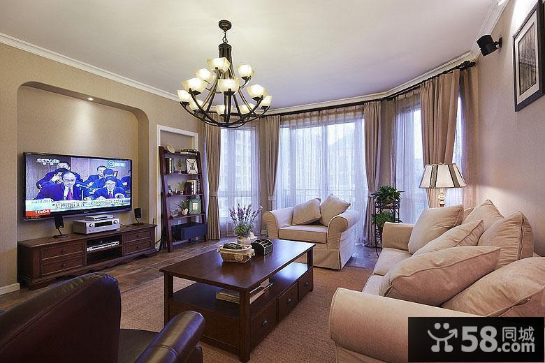 没有电视墙的客厅