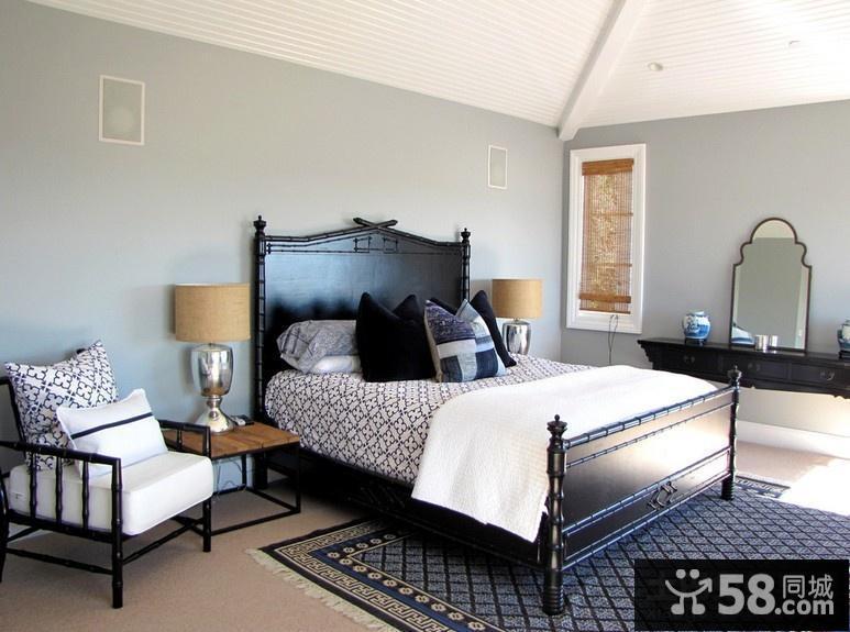 简约元素的美式风格装修客厅装修效果大全2014图片