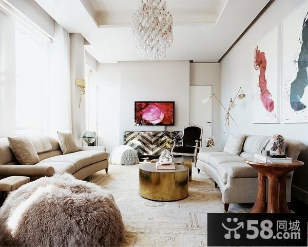 复式客厅电视墙