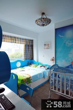 小户型儿童房装修效果图 地中海儿童房装修效果图