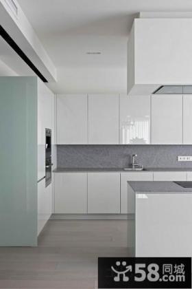 现代极简风格厨房设计图片