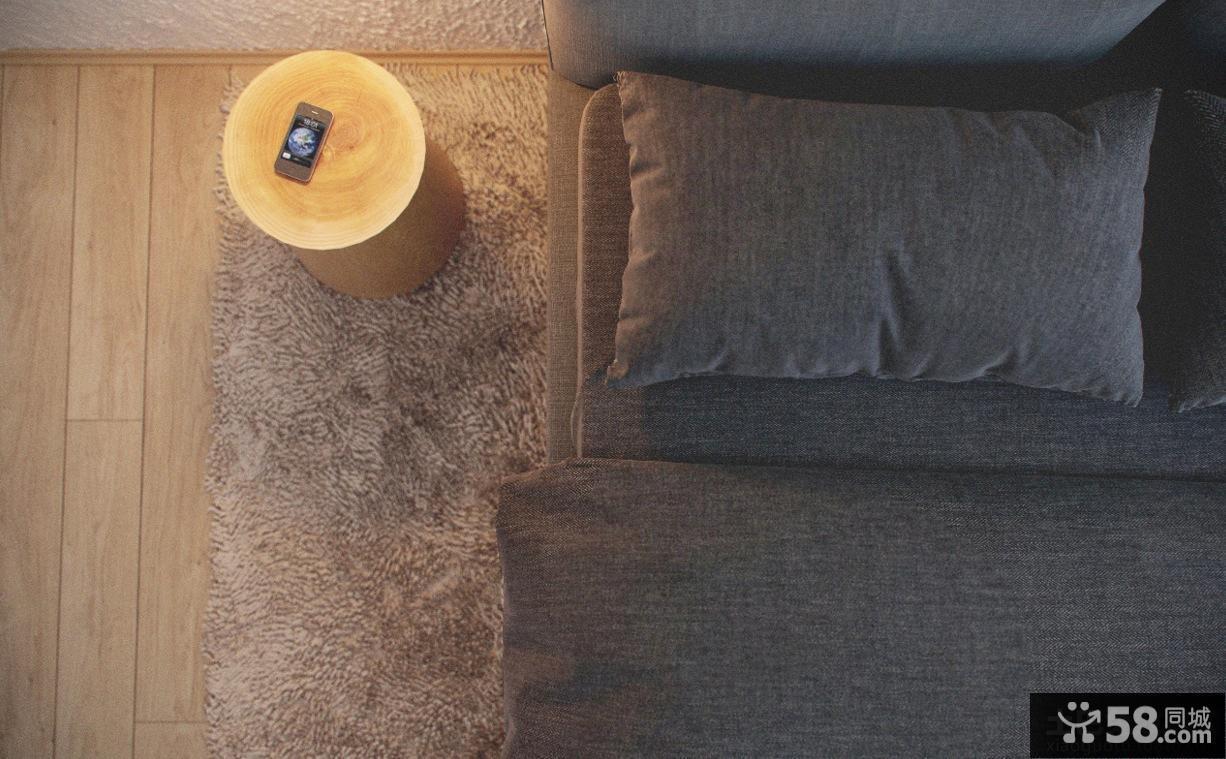 卧室羊毛地毯图片
