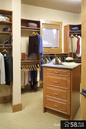 美式卧室兼书房装修效果图大全2012图片