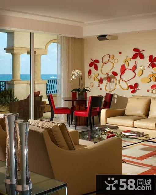 现代中式客厅装饰画