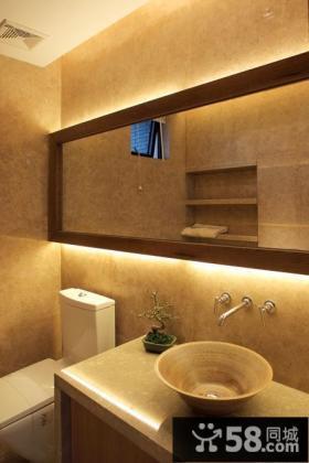 卫生间洗手盆装饰设计图