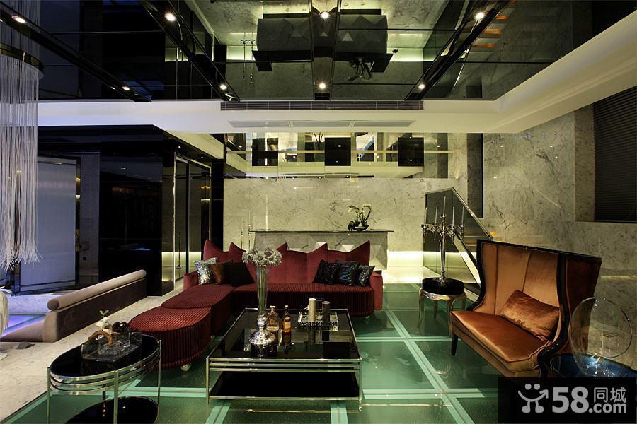 客厅和餐厅设计效果图