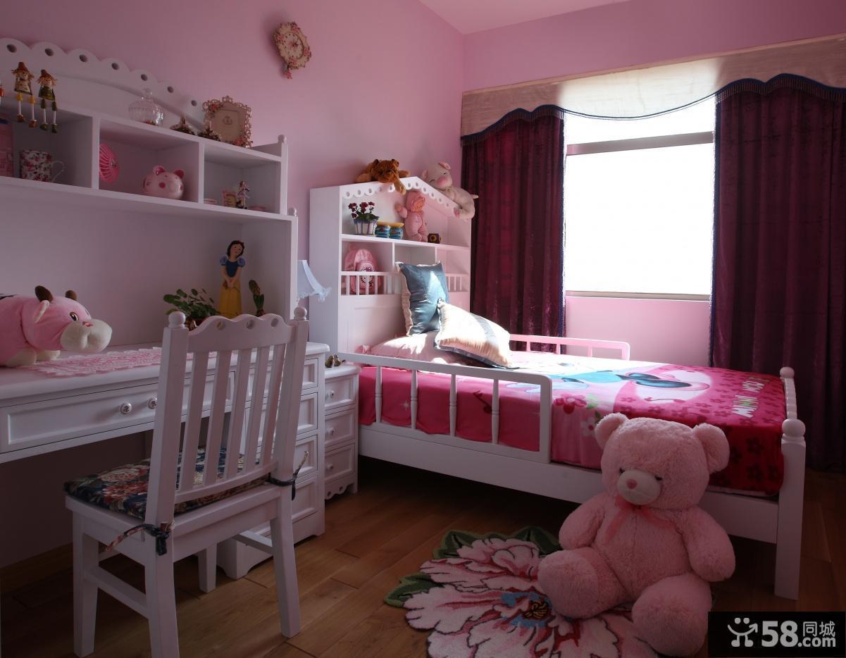 儿童卧室装修效果图2013图片