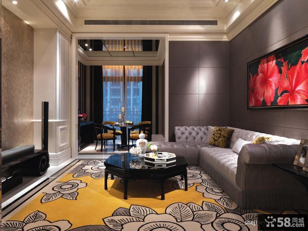 新古典客厅装饰效果图