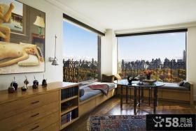 现代欧式客厅装修效果图 2012客厅装修效果图