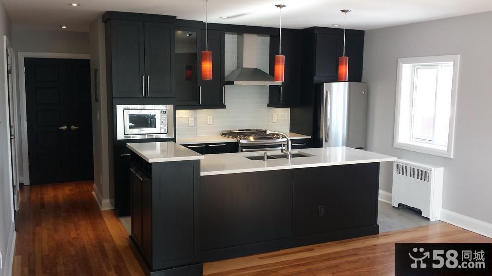现代厨房装修图