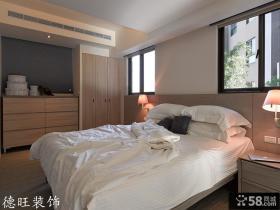 现代风格卧室床头壁灯效果图
