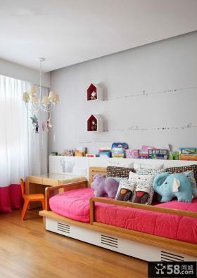 混搭装修设计儿童房效果图