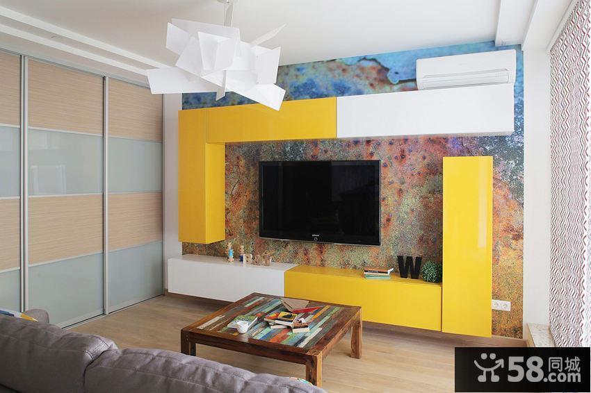 创意现代二居室装饰设计