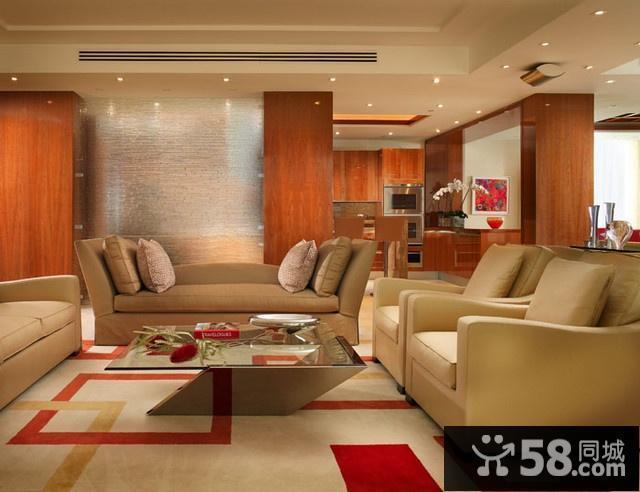 日式小户型客厅装修图