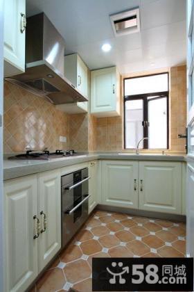 美式设计装修厨房效果图大全欣赏