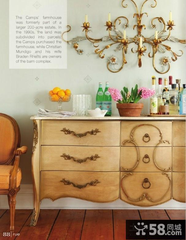 美式风格装修卧室