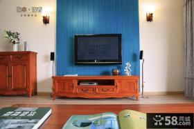 田园电视背景墙装修效果图大全图片