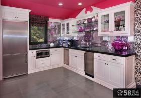 简约小厨房装修效果图大全2012图片