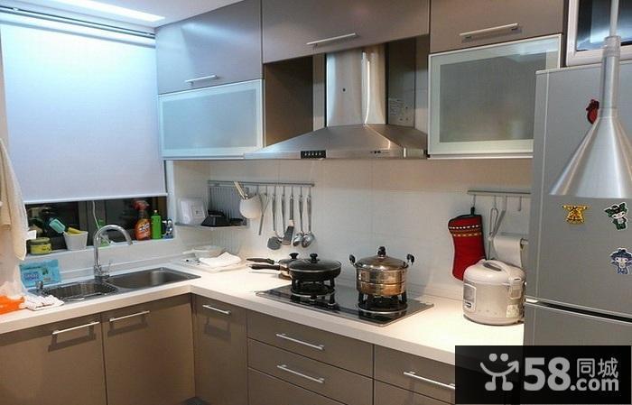 厨房欧式装修效果图大全2016图片