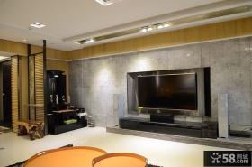 日式室内设计电视背景墙图片大全