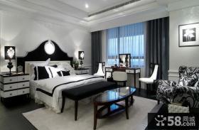 现代风格精装卧室效果图片欣赏