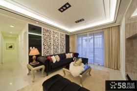 混搭家居客厅整体设计装修