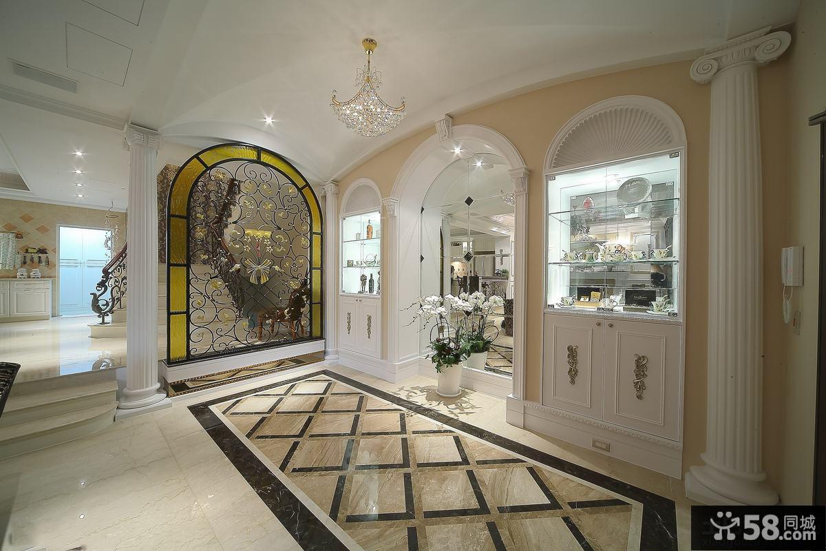豪华欧式风格门厅玄关图片