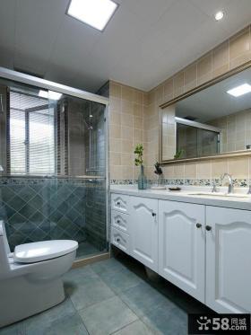 美式风格家居卫生间欣赏